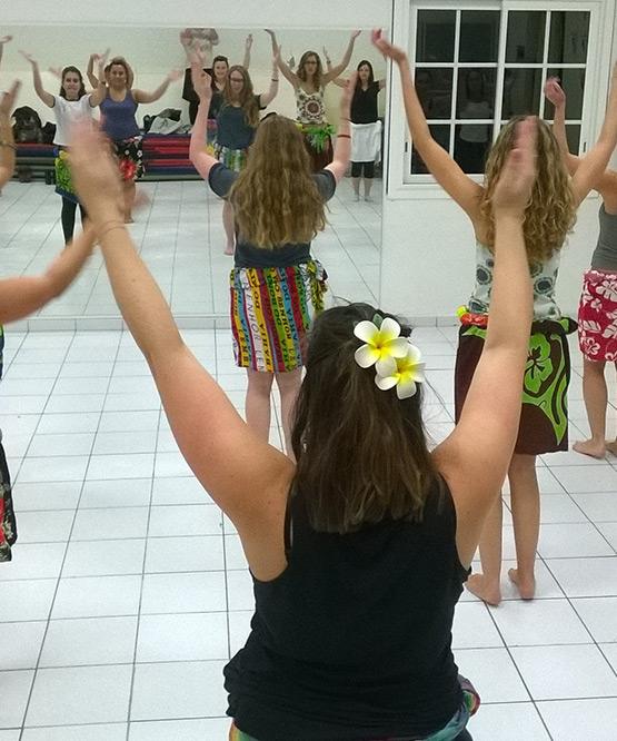 Cours de danse polynésienne à anglet