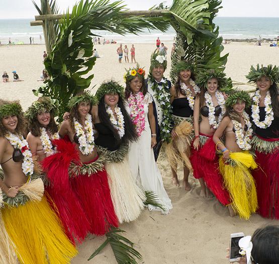Spectacles de danse Tahitienne