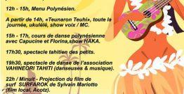Journée Polynésienne à Erromardie