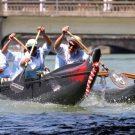 HandiSurf et la course de pirogues aux fêtes de Bayonne